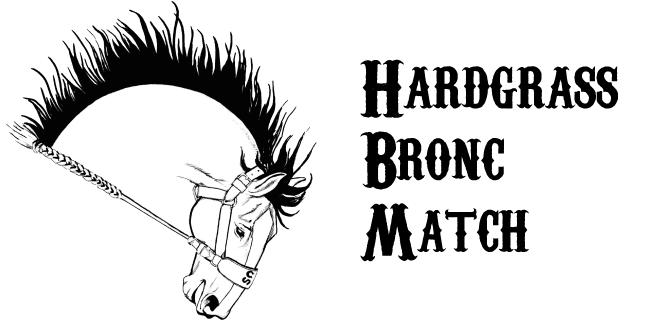 Hardgrass Bronc Match Logo