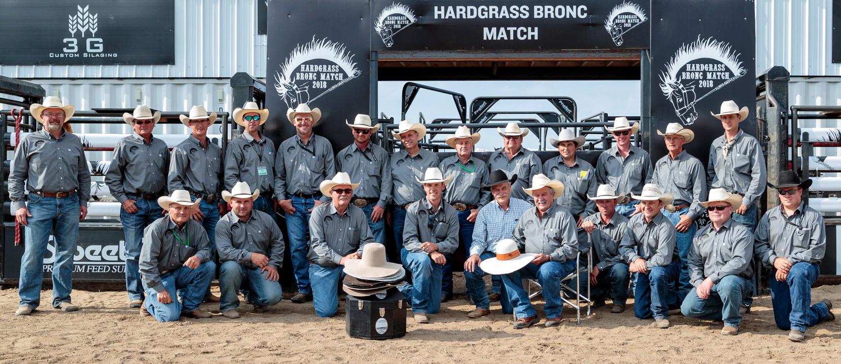 About the Hardgrass Bronc Match team